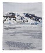 Brown Bluff, Antarctica Fleece Blanket