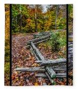 Brown County Park Fleece Blanket