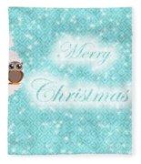 Christmas Card 7 Fleece Blanket