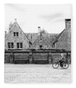 Bruges Cyclist Fleece Blanket