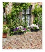 Brugge Balcony Fleece Blanket