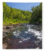 Brule River 1 Fleece Blanket