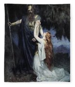 Brunhilde Knelt At His Feet, From The Fleece Blanket