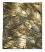 Brushed Metal  Fleece Blanket