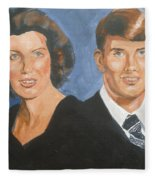 Bryan And Gina Fleece Blanket
