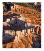 Bryce Canyon From The Air Fleece Blanket