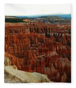 Bryce Canyon In The Afternoon Fleece Blanket