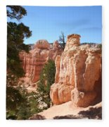 Bryce Canyon  Red Rocks Fleece Blanket
