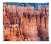 Bryce Canyon Utah Views 90 Fleece Blanket