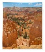 Bryce Canyon Valley Walls Fleece Blanket