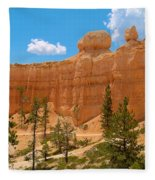 Bryce Canyon Walls Fleece Blanket