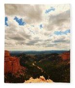 Bryce Horizon Fleece Blanket