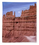 Bryce Moon Rising Fleece Blanket