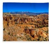 Bryce's Glory Fleece Blanket