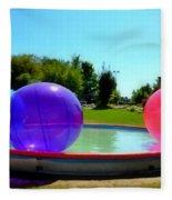 Bubble Ball 1  Fleece Blanket