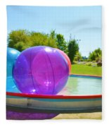 Bubble Ball 2 Fleece Blanket