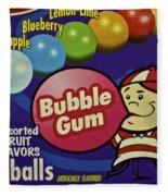 Bubble Gum Fleece Blanket