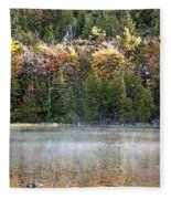 Bubble Pond Acadia National Park Fleece Blanket