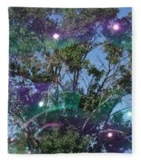 Bubble Tree Fleece Blanket