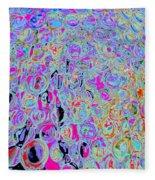 Bubbles Five Fleece Blanket