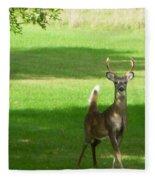 Buck And Doe Fleece Blanket