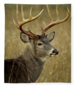 Buck Fleece Blanket