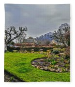 Buckland Garden Fleece Blanket
