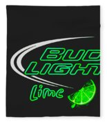 Bud Light Lime 2 Fleece Blanket