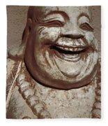 Buddha 15 Fleece Blanket