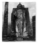 Buddha Wat Sri Chum Thailand 2 Fleece Blanket