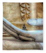 Buddha's Hand Fleece Blanket