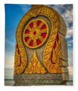 Buddhist Icon Fleece Blanket