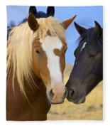 Buddies Wild Mustangs Fleece Blanket