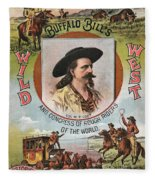 Buffalo Bills Wild West Fleece Blanket