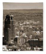 Buffalo Central Terminal Winter 2013 Fleece Blanket