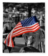 Buffalo Marathon 2013 Respect Fleece Blanket