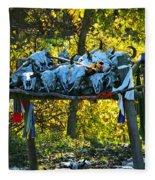 Buffalo Spiritual Grounds Fleece Blanket