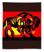 Buffalo Sun Set Fleece Blanket
