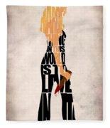 Buffy The Vampire Slayer Fleece Blanket
