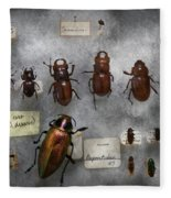 Bug Collector - The Insect Collection  Fleece Blanket