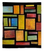 Building Blocks Four Fleece Blanket