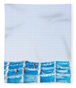 Building Work Fleece Blanket