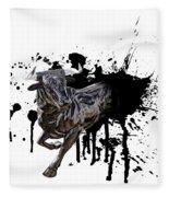 Bull Breakout Fleece Blanket