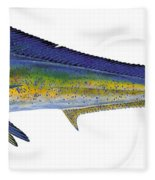 Bull Dolphin Fleece Blanket