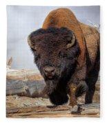 Bull Strut Fleece Blanket