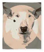 Bull Terrier Graphic 1 Fleece Blanket