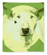 Bull Terrier Graphic 2 Fleece Blanket