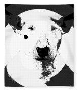 Bull Terrier Graphic 6 Fleece Blanket