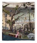 Bullocks Museum, 22 Piccadilly, London Fleece Blanket