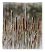 Bulrushes Fleece Blanket